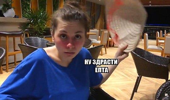 Пикапер снял русскую пьяную телочку в кафе и трахнул ее на камеру...
