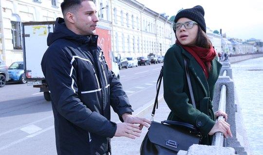 Русская повелась на пикап от туриста и отполировала рачком крепкий чле...